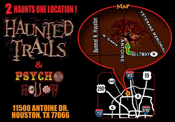 The Haunted Trails & Psycho Hollow